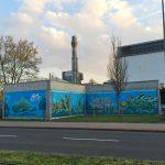 Mural an der Heinrich-Lanz-Schule